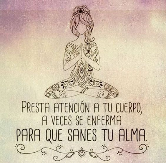 Presta atención a tu cuerpo...🙌🏻