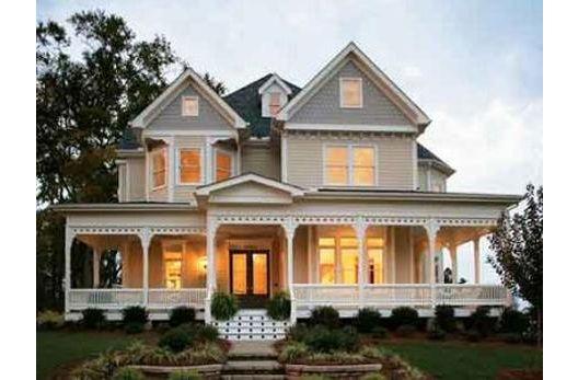 Modern Victorian modern victorian home. beautiful wrap around porch. my dream house
