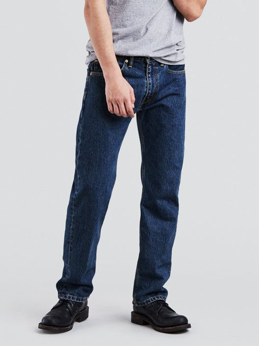 505™ Regular Fit Men's Jeans Dark Wash | Levi's® US