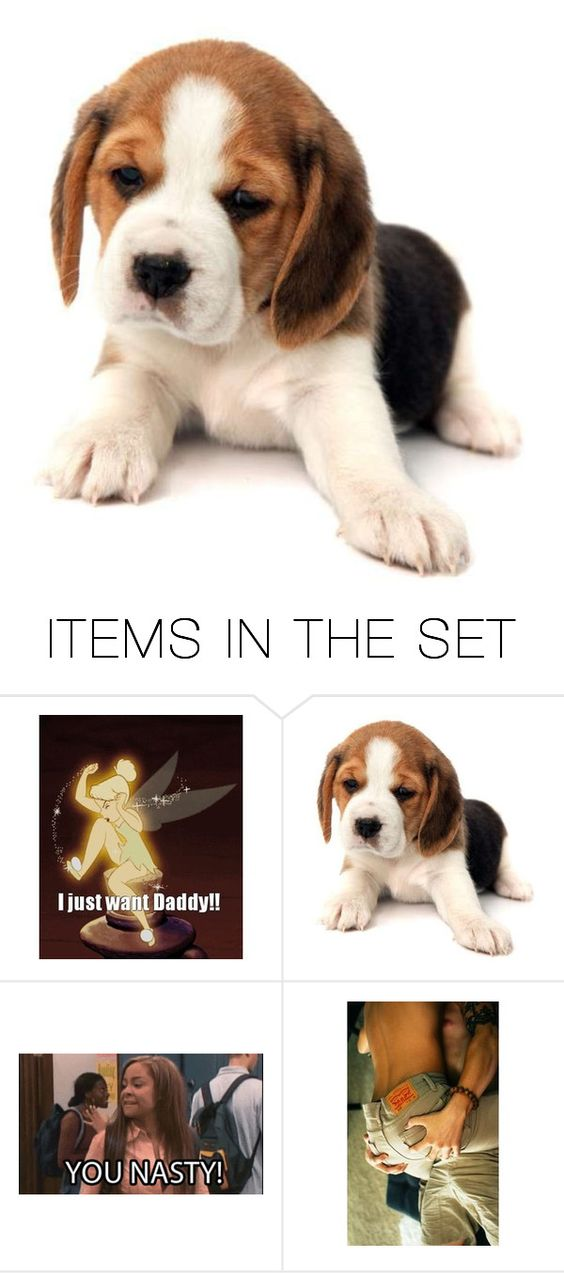 """Just look at the puppy...😉😳😏"" by killjoy-717 ❤ liked on Polyvore featuring art"