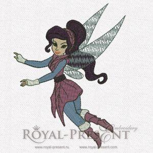 Machine Embroidery Design - Vidia (Disney Fairies)