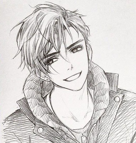 Pin By Zoro Roronoa On Dibujo Anime Drawings Sketches Anime Sketch Anime Boy Sketch
