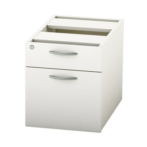 Derry 2 Drawer Lockable Filing Cabinet Mercury Row Finish White Filing Cabinet Cabinet Home Office Uk