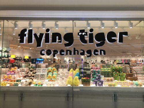 Flying Tiger Roars Into The Gyle Flying Tiger Copenhagen Tiger Store Danish Design Store