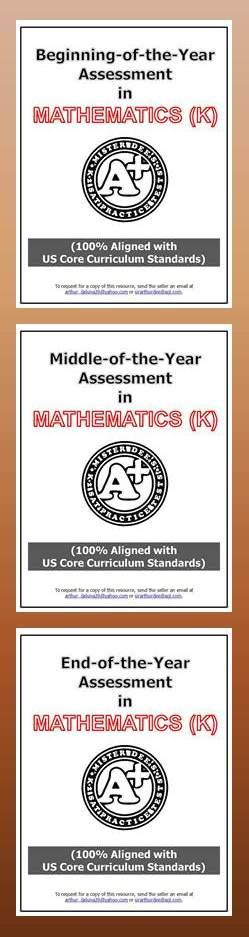 Assess your kindergartners using this new mirrored assessment. This a 3-part assessment to be administered at the beginning, middle, and end of the year. Click the following link to preview and checkout this resource. https://www.teacherspayteachers.com/Store/K-2-Sat-Practice-Tests-A/Category/Mirrored-Assessments-for-K-2