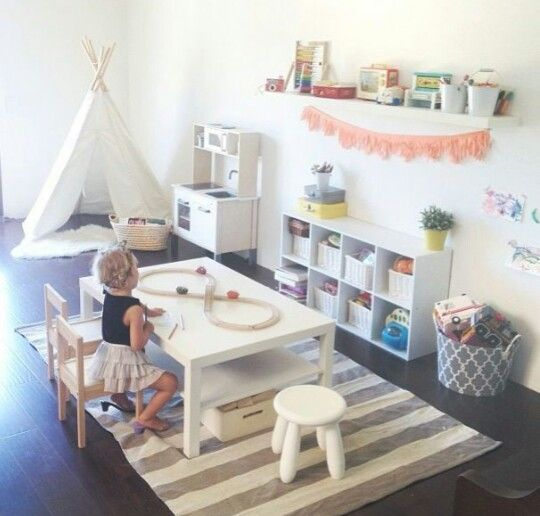 Colorful Playroom: Bright Colours, Neutral Colors And Play Rooms On Pinterest