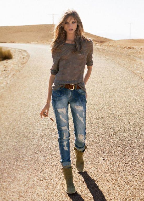 Positively Noteworthy: juliettachanel:   Mango Summer 2012 Model: Anna...