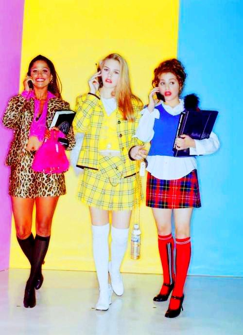 Stacy Dash, Alicia Silverstone, Brittany Murphy. Clueless #epic