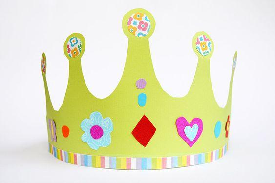 Paper Crown   Kids' Crafts   Fun Craft Ideas   FirstPalette.com