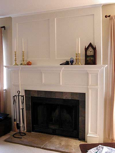 Fireplace Reno Idea Remove Stone And Add New Surround