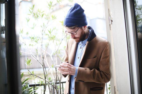 Beanie coat tumblr Style
