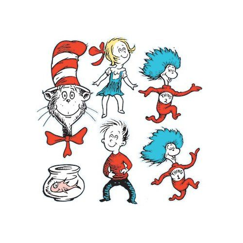Dr Seuss Characters Sally The incorrigible cat in the hat, sally , her ...