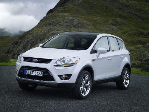Ford Kuga white