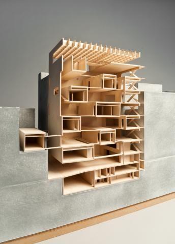 "unnamed student ""Fondacione Jodice 2""   Architecture School, Vienna University of Technology - TU Wien - Austria   March 2011"