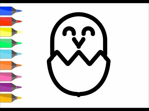Coloring Pages 8 Easter Egg Surprise Draw For Kids Painting For Toddlers Coloring Video Baby P12 Youtube Drawing For Kids Painting For Kids Coloring Pages