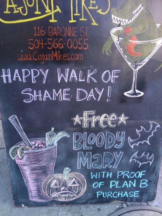Happy Walk of Shame Day!