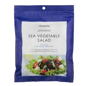 Japanese Seaweed Salad 25g. Clearspring
