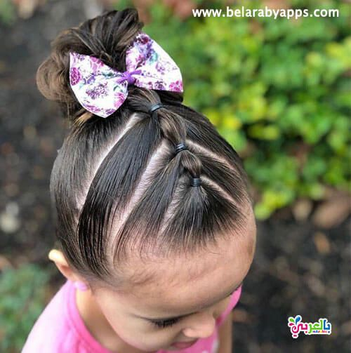 تسريحات شعر بنات جديدة للمدرسة Easy Toddler Hairstyles Baby Girl Hairstyles Toddler Hair