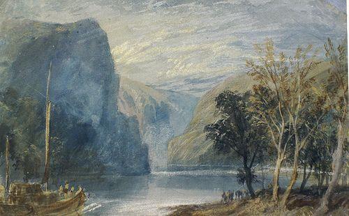 William Turner Der Loreley Felsen The Lorelei Rock William