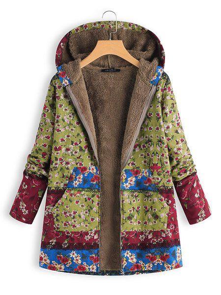 Jacke Mosstars warme Damen Winter Lässige Parka Outwear f7yb6IYgvm