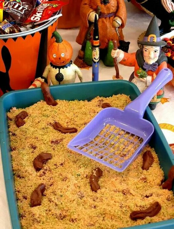 Kitty Litter cake!