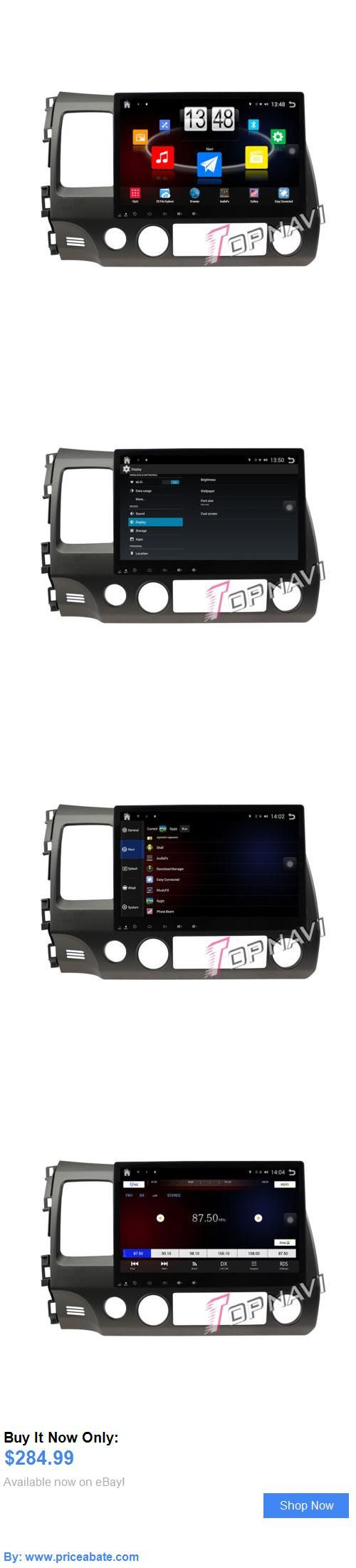 Car Audio Video And GPS: 10.1 Android 4.4 Car Gps Stereo Navi Video Audio For Honda Civic (2006-2011) BUY IT NOW ONLY: $284.99 #priceabateCarAudioVideoAndGPS OR #priceabate