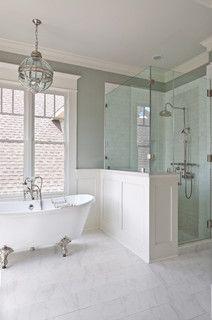 Cortlandt residence traditional bathroom houston for Bathroom decor houston