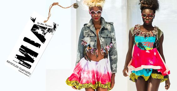 MIA By Mia Nisbet - Fashion Designer making up-cycled clothing in Malawi - Africa.