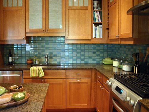 Backsplash Light Green Natural Cabinets Re Please Show Me Subway Tile Backsplashes W Light