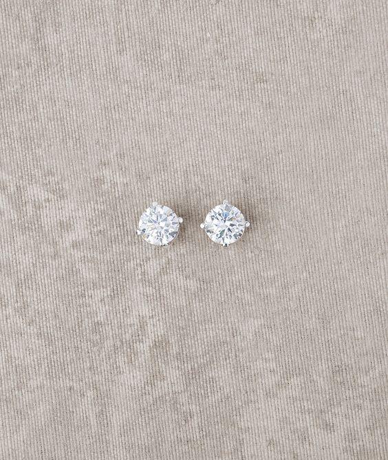 Pronovias vous propose les boucles d'oreilles de mariée PT-2568   Pronovias   Pronovias