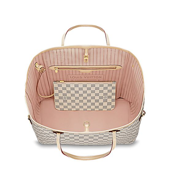 Neverfull GM - Damier Azur Canvas - Handbags | LOUIS VUITTON $1340