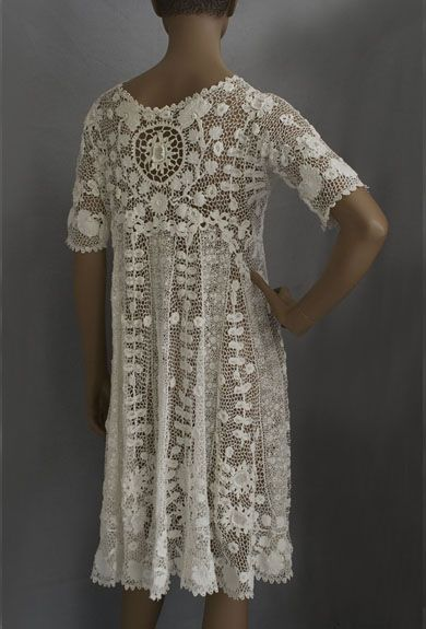 Beautiful c1920's Irish Lace Jacket Bust 38, it can be yours for only 2100 bucks