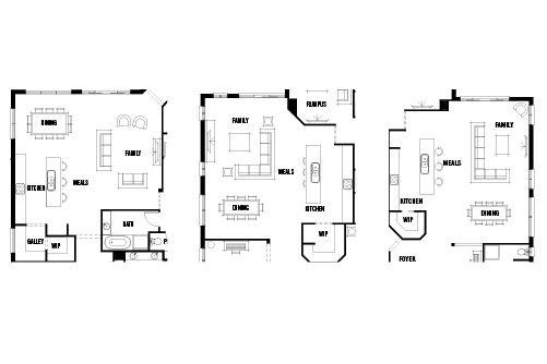 Furnishing Open Plan Living Modern Open Plan Floorplans Id Studio Interior Design Open Plan Kitchen Living Room Open Plan Living Open Plan Kitchen Dining