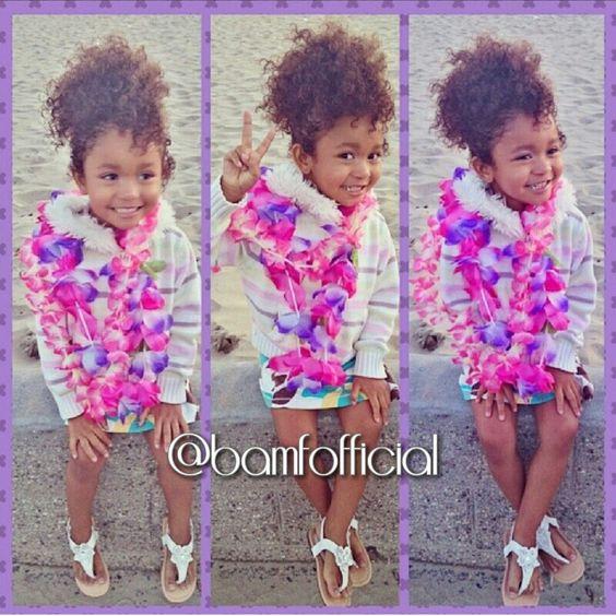 Cute mixed baby