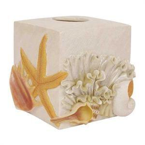 Kleenex cover beach theme tissue cozys pinterest sea shells tissue box holder and shells - Beach themed tissue box cover ...