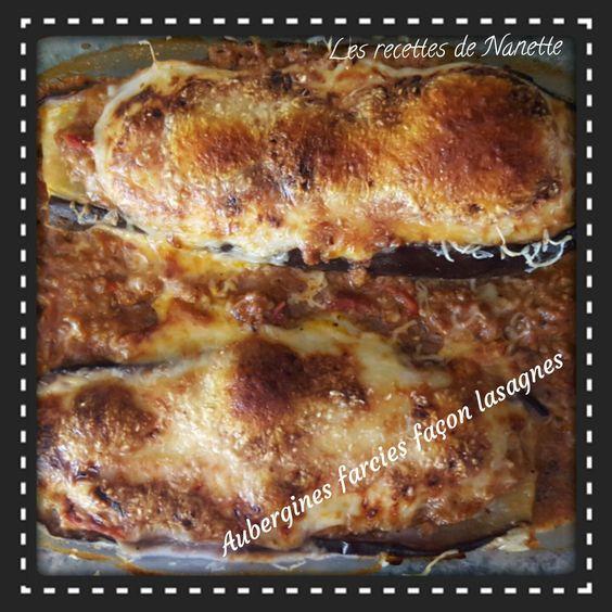 Voilà ma recette d'aubergines farcies façon lasagnes!!! J'ai trouvé l'idée sur Pinterest mais je n'ai pas suivi une recette spécifique! Je me suis régalée!!! 1 personne / 8SP la part Ingrédients 1 aubergine 150ml de lait écrémé 1CS de maïzena 4 petites...