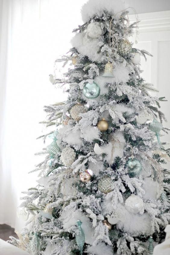 37 awesome white christmas tree designs