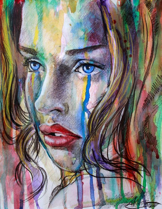 Tears of technicolours IV by AlfieAlphA.deviantart.com on @deviantART