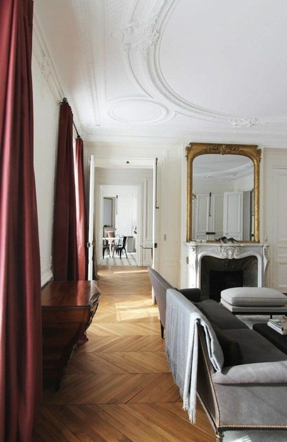baroque rouge and salons on pinterest. Black Bedroom Furniture Sets. Home Design Ideas