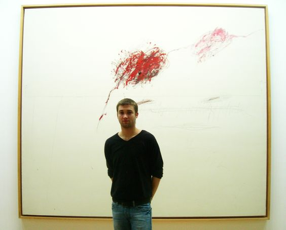 achilles mourning the death of patroclus 1962 CY TWOMBLY. www.ipclub.fr