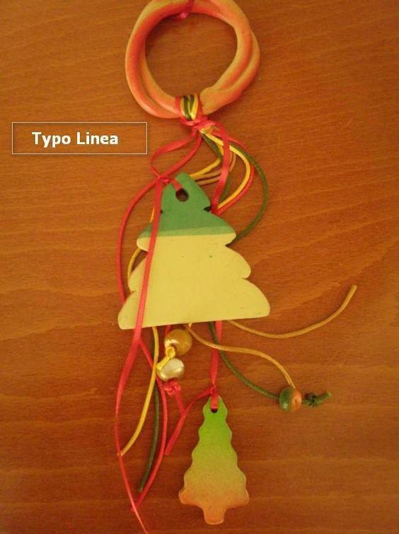 Ασυνήθιστη δημιουργία σε γούρι κεραμικό δένδρο - έλατο