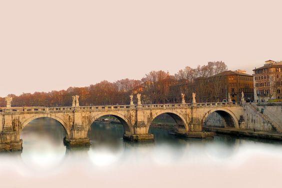 Tevere, Tiber, Rome, Italy by Pieter Arnolli