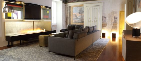 30 best Kamin-TV images on Pinterest Tv fireplace, Ethanol - wohnzimmer kamin ethanol