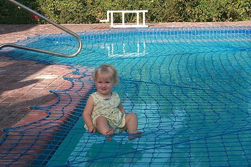 Swimming Pool Safety Nets Secure Your Pool With All Safe Safe Pool Pool Safety Net Swimming Pool Safety