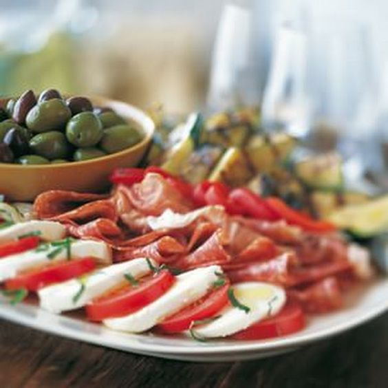 Antipasto Salad Recipe Salads with zucchini, asian ...