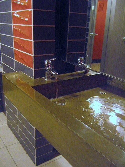 Concrete Sink Double sided trough. Concrete Sink Double sided trough   Concrete Sinks   Pinterest