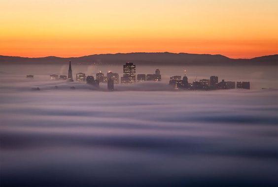 My favorite San Francisco fog photo. #google