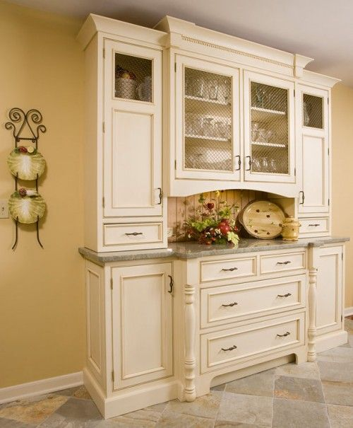 Dining rooms cabinets and built in hutch on pinterest for Kitchen built in cabinets