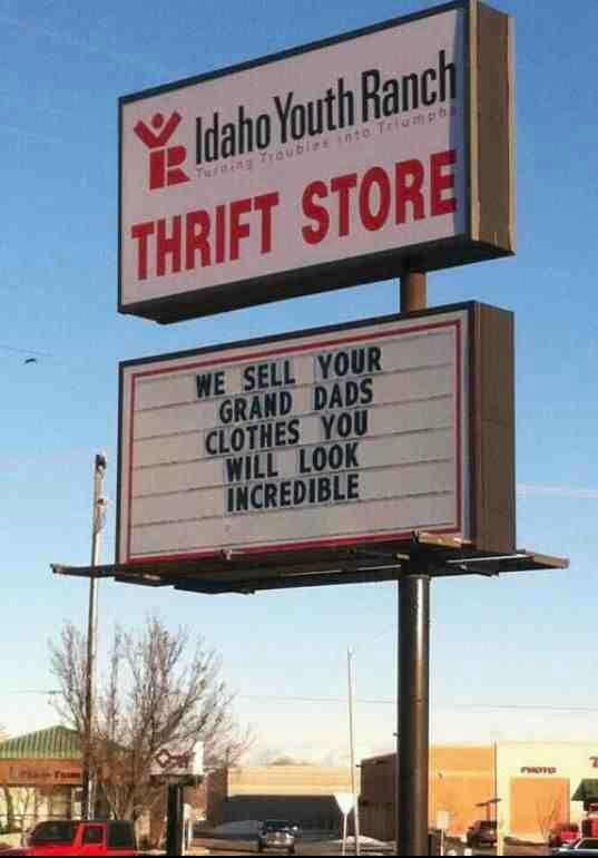 """CM... """"Thriftshop"""""""