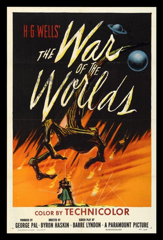 science fiction movie posters 1950's | 1950′s Sci-Fi Movie Poster Art | Gidget's Scrapbook